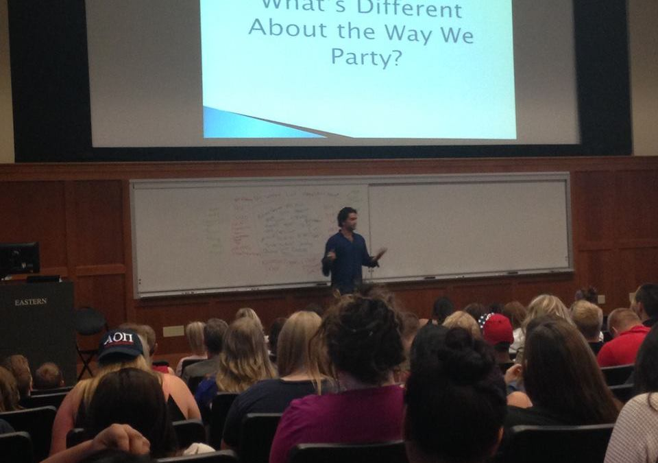PWC Founder Speaks with Eastern Washington University Students